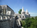 Fisherman's Bastion up in the Castle District on the Pest side of the city
